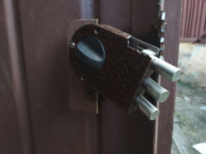 Broken Door Lock