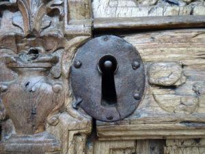 An antique lock